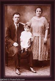 Family Portrait Circa 1910